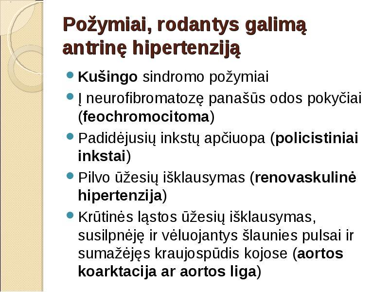 kas yra įtampos hipertenzija)