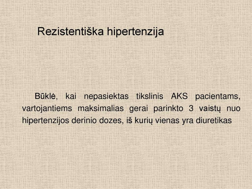kas yra izoliuota hipertenzija)