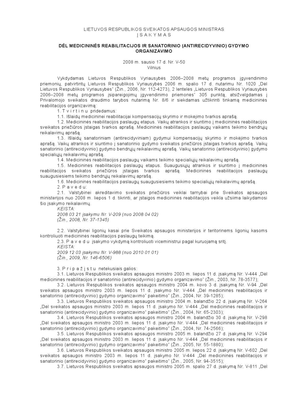 reabilitacija dėl hipertenzijos kurso)