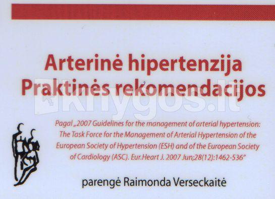 hipertenzijos aprašymas