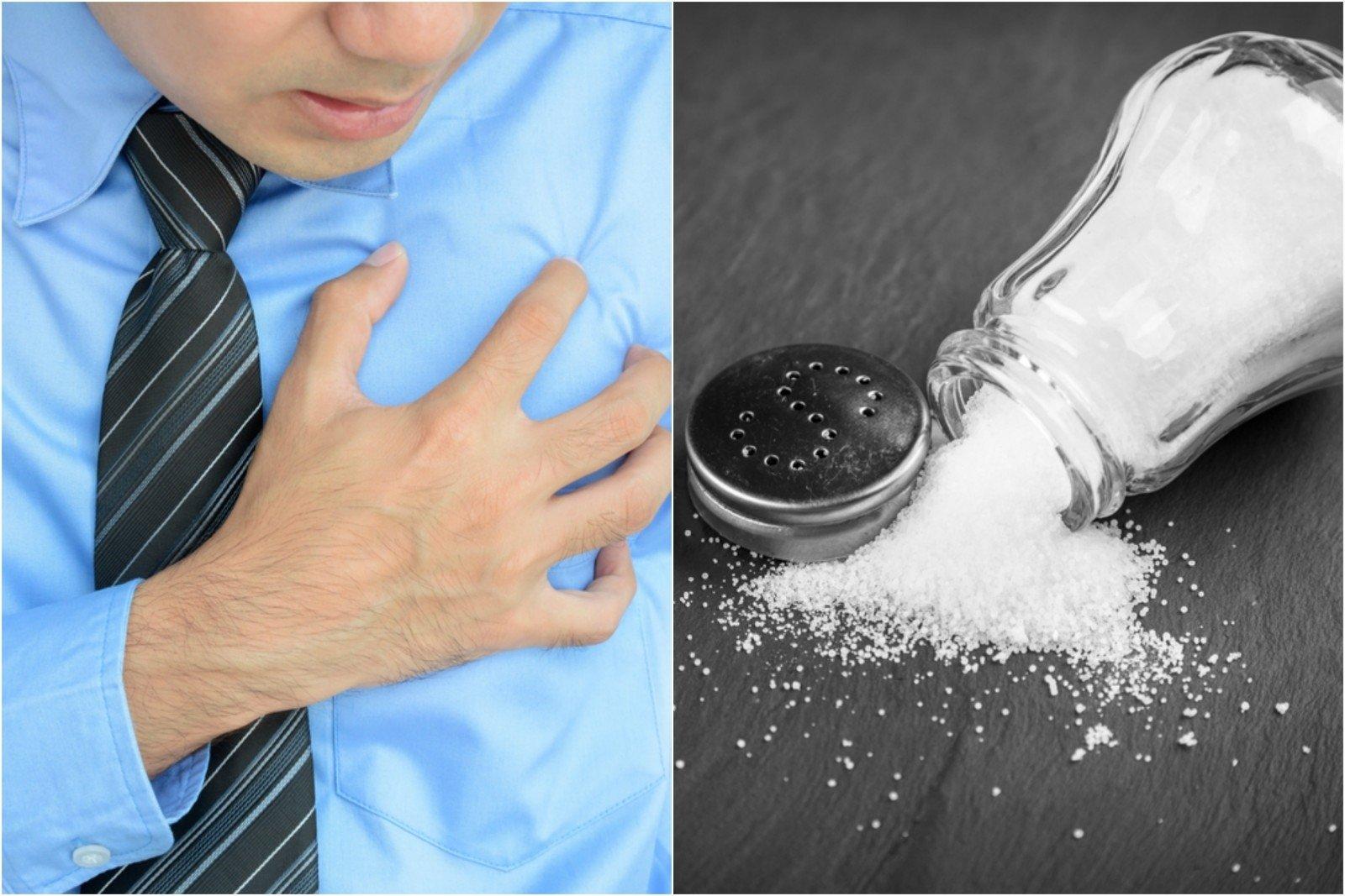 hipertenzinis druskos poveikis)