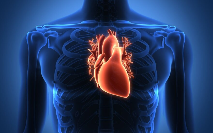 širdies sveikata vyresnėms nei 40 metų moterims