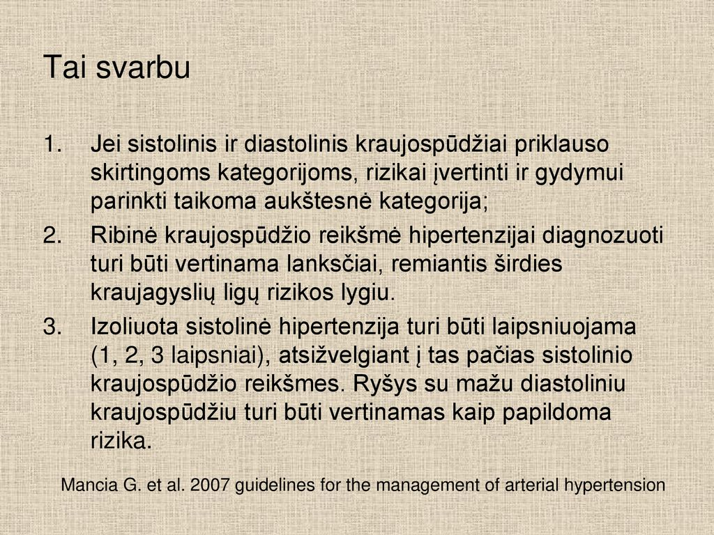 kas yra hipertenzija 1 2 3 laipsniai demensino hipertenzija