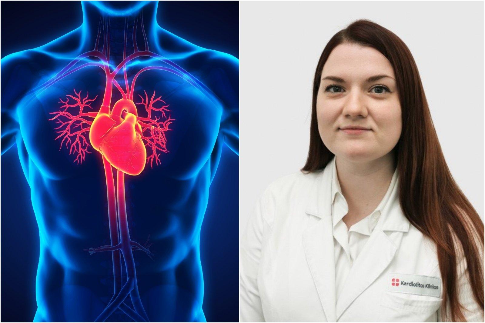 svoris ir širdies sveikata hipertenzija smegenų kraujavimas